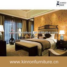 Directa de la fábrica de lujo de alta cabecera de la cama del dormitorio moderno conjunto csy-r007