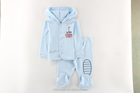 100% cotton long sleeve clothes baby boy body sleep suit