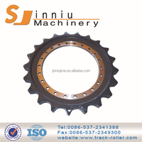 2015 new design black or orange nylon plastic sprockets gear