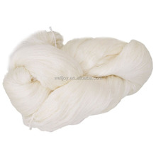 Low shrinkage 100% spun polyester yarn in hank for sewing thread
