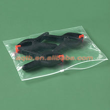 PE side slider zipper bag for Electronic Products Packing