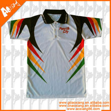 wholesale digital sublimation polo shirt