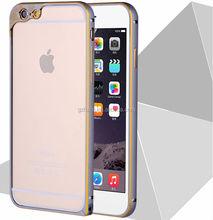 New arrival Aluminum Metal Bumper For iPhone 6 phone case To protect the camera,aluminum camera lens case