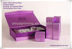 New Design Packaging Luxury Custom Printed Cosmetic Paper Box