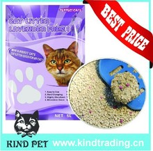 Hotsale China classic clumping cat sand toilet kitty sand
