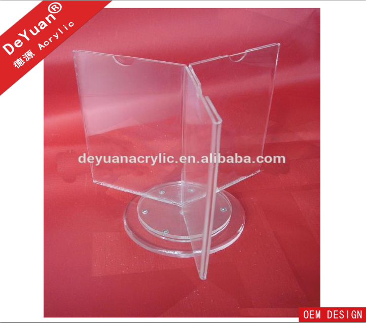 Rotate Triangle Acrylic Menu Holder.png