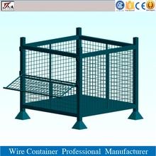 Heavy duty steel storage bin