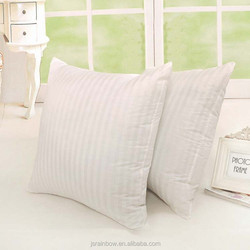 whosale stripe non-woven eco-friendly harmless fabrics filling PP cotton cushion inners/pillow filling