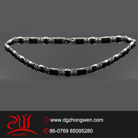 cheap motorcycle bead necklace designs man's chain