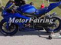 para suzuki gsxr 750 gsxr 600 2008 2009 2010 carenados de fibra de vidrio de la motocicleta