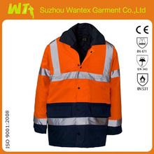 high visibility fleece jacket european style meets EN343