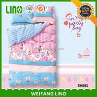 home reactive printed cotton children duvet cover set
