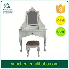 Unique Clearance Goods Dressing Table Mirror With Led Lights