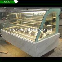 Luxurious horizontal-tye cake display chiller in maikeku