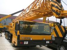 Qy 25 K de alta eficiência telescópio de segunda mão / usado XCMG máquinas de construção 25 t móvel / caminhão guindaste