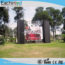 outdoor LED High quality large screen display P10 stage backdrop with cheap price