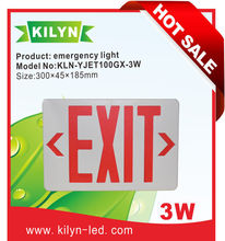 CUL listed High power 127V/277V dual voltage operation led emergency exit light