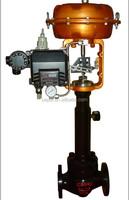 Pneumatic bellows seal control valve