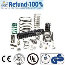 support sample order spring steel strip rubber compression spring component