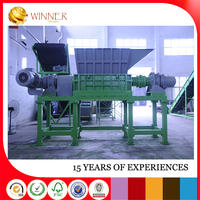 Tire cost of plastic recycling machine