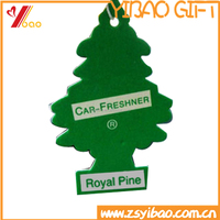 Custom both side logo printing paper car air freshener /perfume/scent