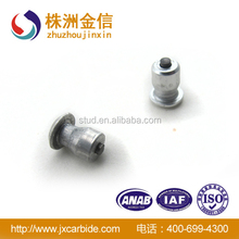 New 8-10-2 aluminum body tyre studs with carbide pin