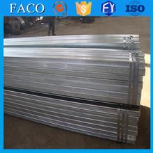 Tianjin gi tubo quadrato rettangolare! Zincato di alta qualità grande diametro pre tubo in acciaio zincato
