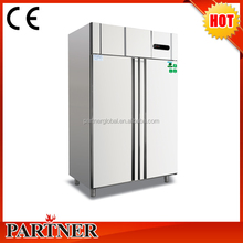 2 doors Commercial Refrigerator/kitchen refrigeration equipment/commercial stainless steel fridge