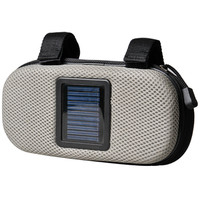 Bicycle waterproof solar speaker bag/recyclable solar bluetooth speaker bag