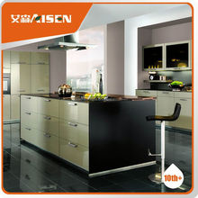 Long lifetime factory directly simple design laminate kitchen cupboard