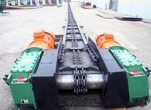 Good performance grain and oil scraper conveyor