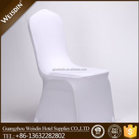 Cheap lycra spandex machine-washable chair covers for wedding banquet chairs