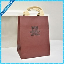 New year high quality luxury paper shopping bags wholesale