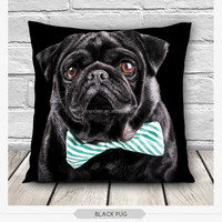 China Wholesale Supplier of 3D Dog Puppy Print Funny pillows home decor pillowcase decorative Animal Print Pillow Covers