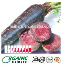 Manufacturer supply natural Black carrot juice concentrate powder for free sample