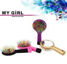 MY GIRL rotating steel brush over 10 years experience cheap custom cute battery hair brush hairbrush manufacturer in usa