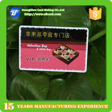 Printable 13.56mhz RFID plastic contactless smart card wiht chip for membership