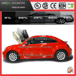 Good quality windshield automobile 2ply 5-70%VLT solar window tinting film tinted car windows
