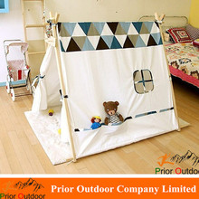 100% cotton canvas kid tent child tent toy house indian tent kids teepee