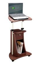 Mejor calidad mesa de ordenador portátil con ruedas ( muebles made in china )