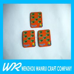 China Manufacturer cheap custom fridge magnets / soft fridge magnets