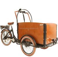 3 wheel bakfiet cargo bike tuk tuk para la venta