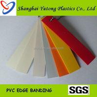 Solid Color PVC Matt Edge Banding Strips
