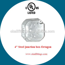 UL listed octagon outlet box