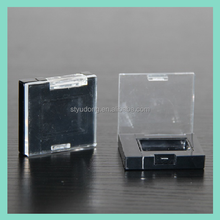 ES0348 OEM Wholesale hard plastic rectangle eyeshadow palette makeup packaging