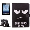 China Manufacturer Creative Designs Leather flip cover for iPad 4 / 3 / 2