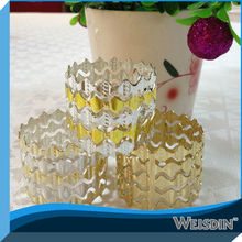 servilletero de metal para la boda