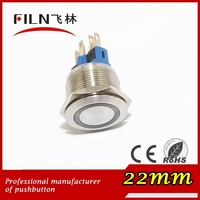 CE, ROHS electrical metal switch on off function emergency stop lift push button