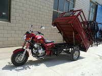 SY150ZH-B 150CC heavy loading three wheel motorcycle and hot sale cargo tricycle with double board and hood