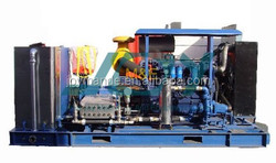 Trailer Mounted Ultra high pressure water blaster/Water jet blaster machine